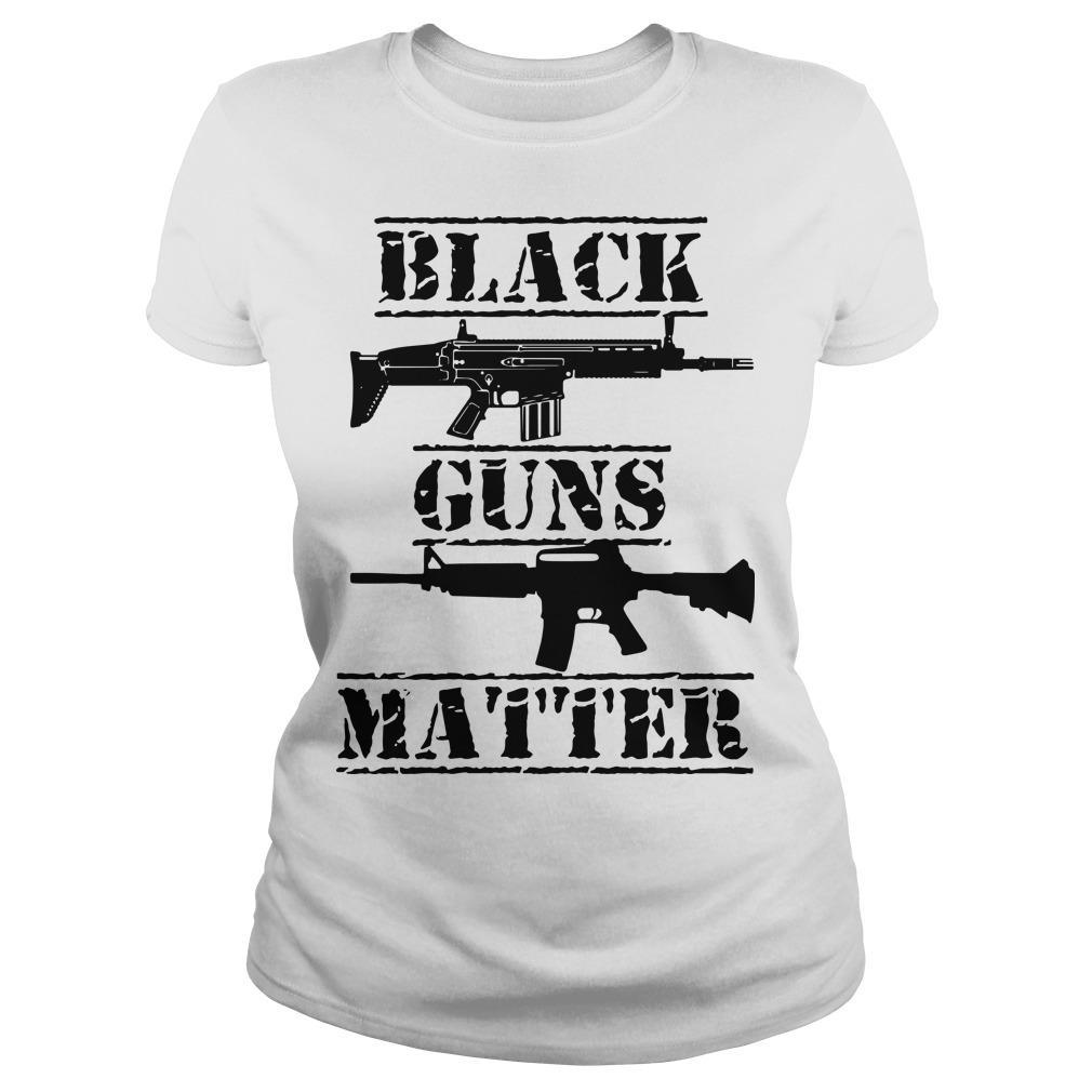 Black Guns Matter Longsleeve