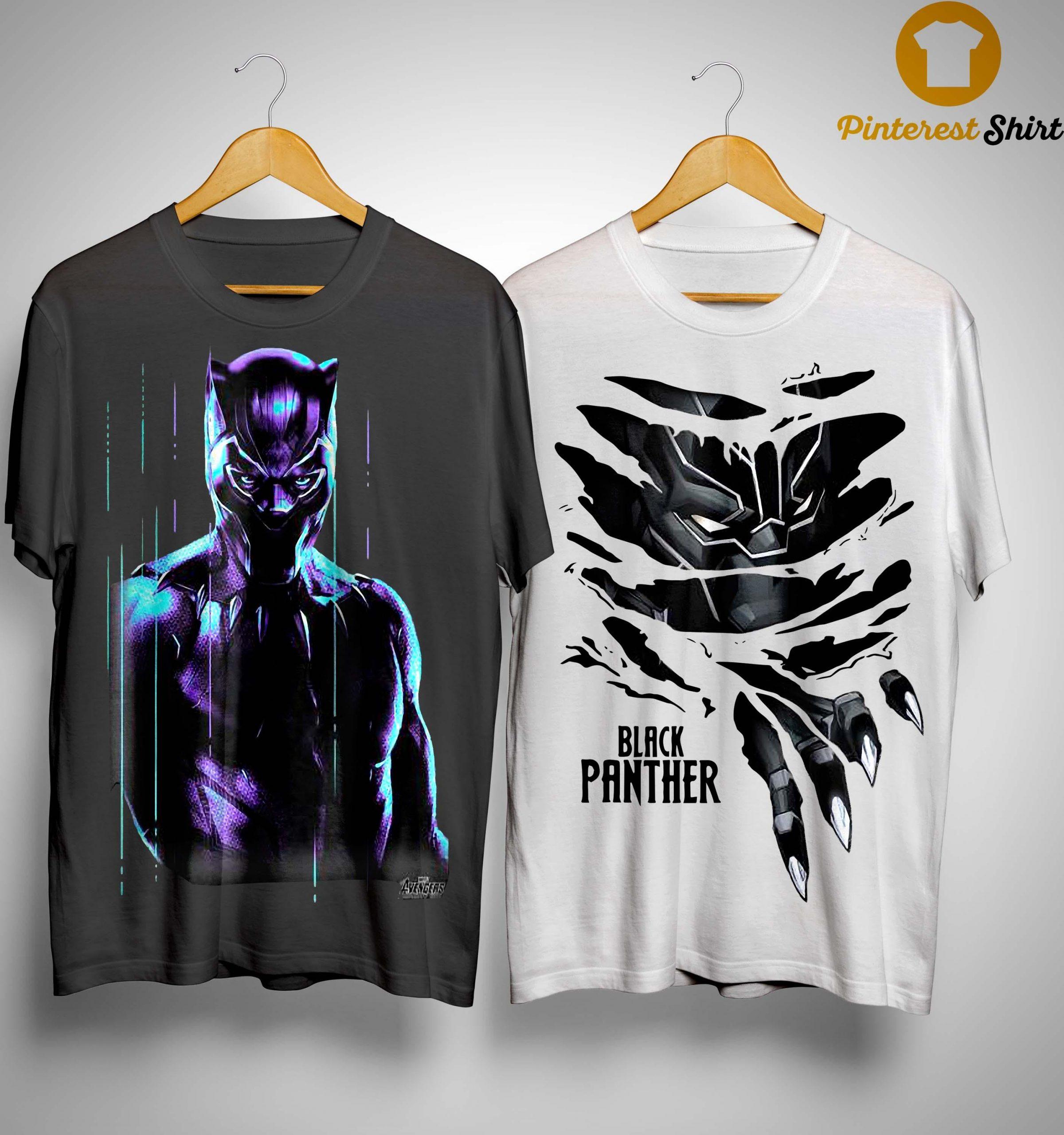 Black Panther Marvel T Shirt