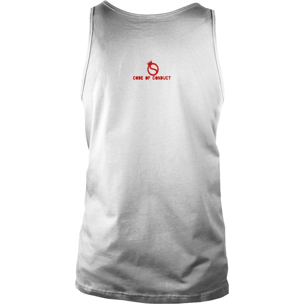 Code Of Conduct America's Team Tank Top