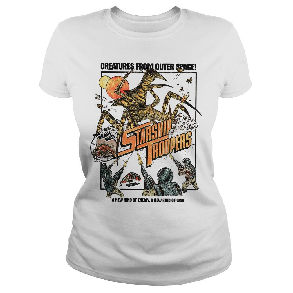 Creatures From Outer Space Starship Troopers Longsleeve