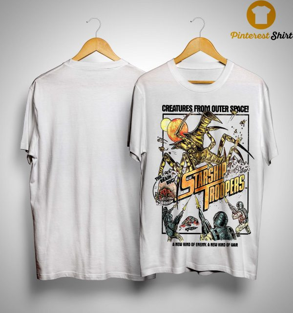 Creatures From Outer Space Starship Troopers Shirt