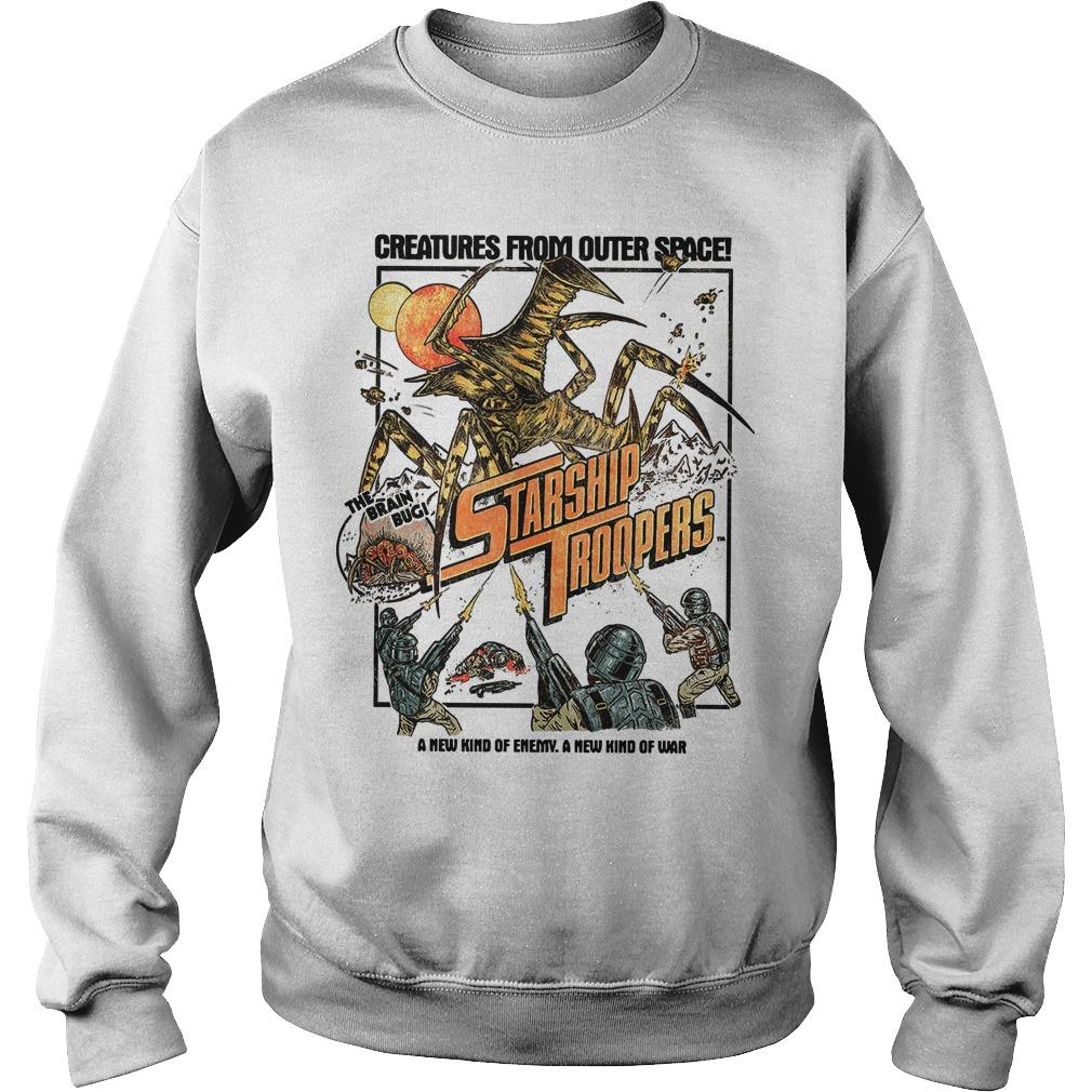 Creatures From Outer Space Starship Troopers Sweater