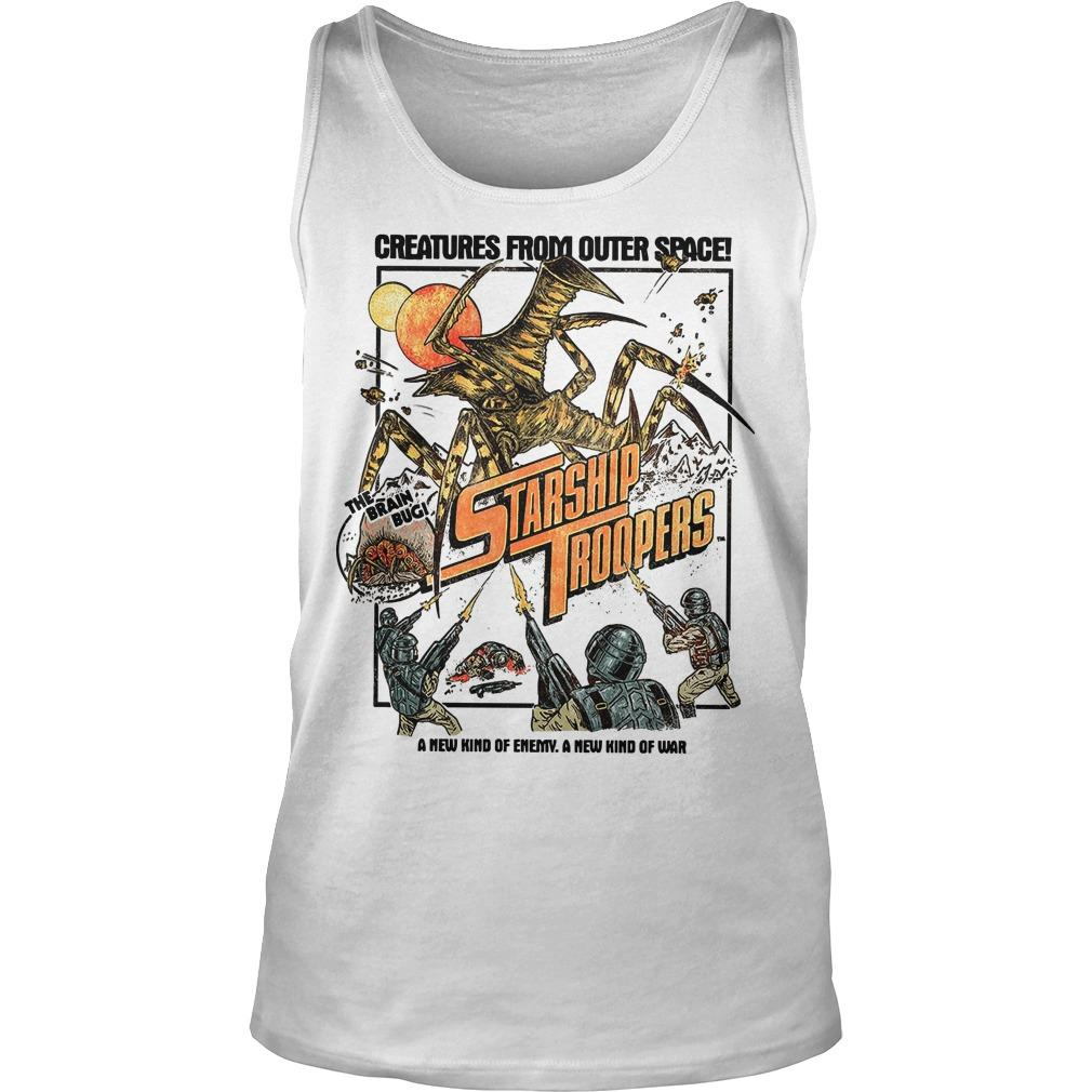 Creatures From Outer Space Starship Troopers Tank Top