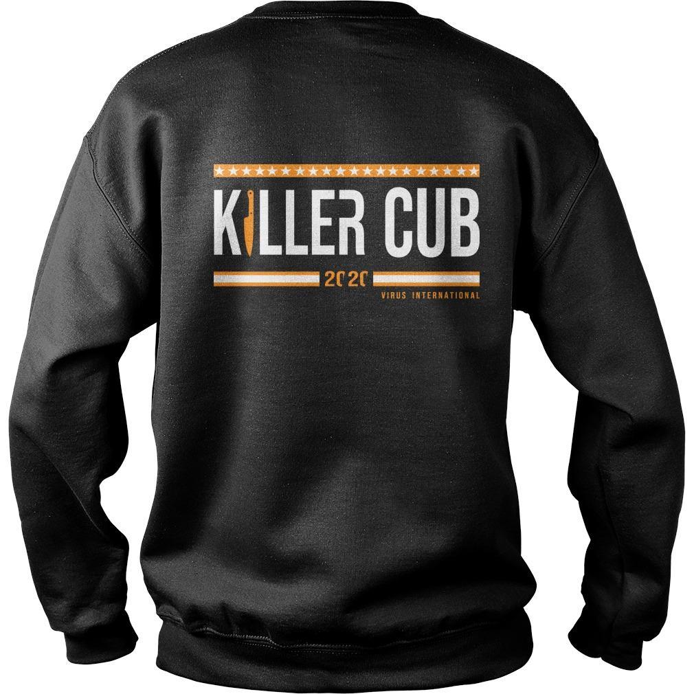 Cub Swanson Killer Cub Virus International 2020 Sweater