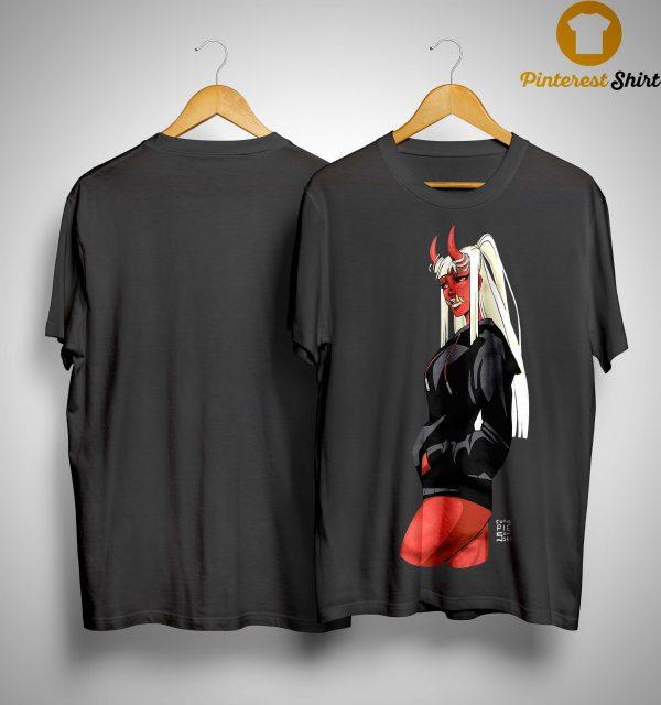 Cutie Pie Sensei X Redpop Oni Chan Shirt