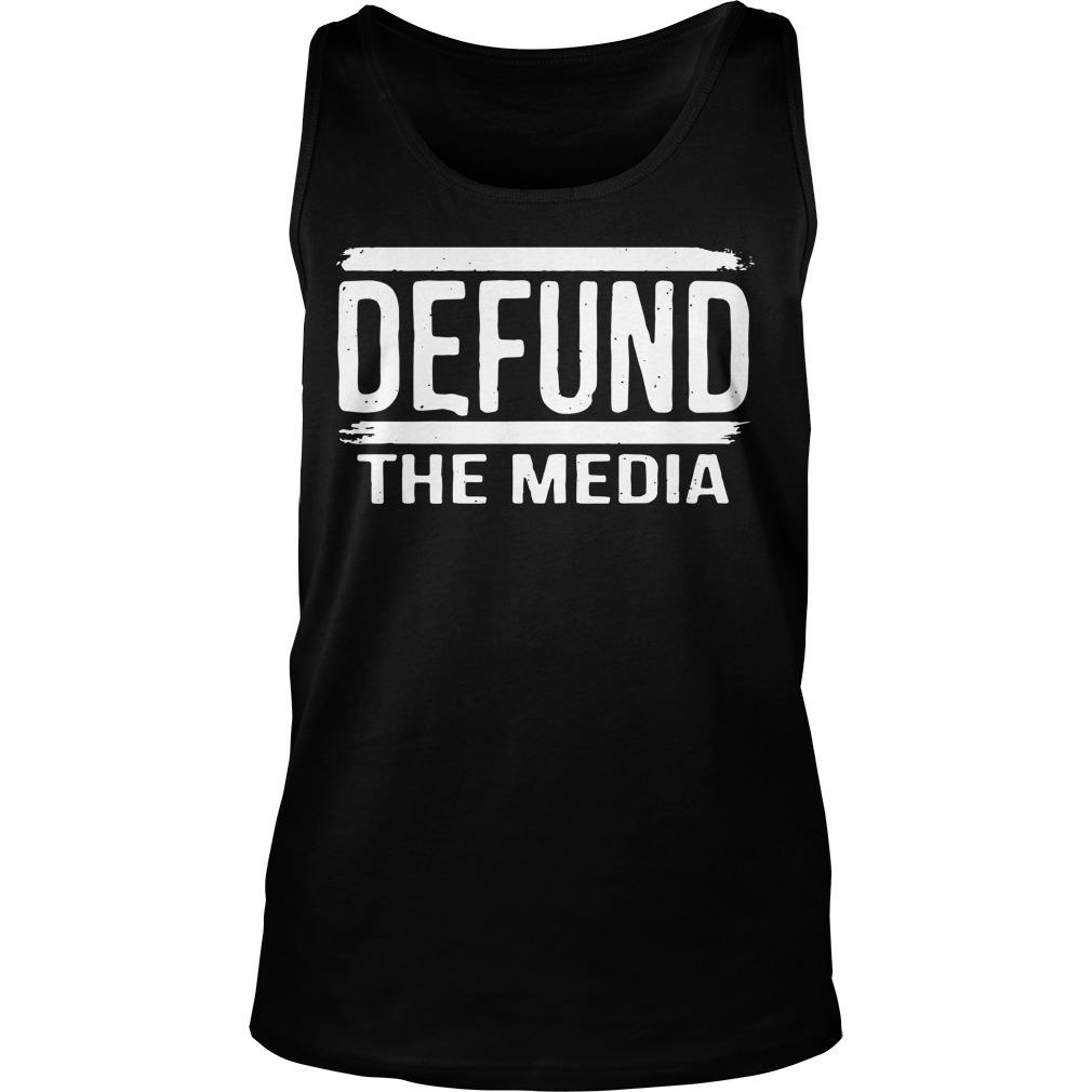Defund The Media Tank Top