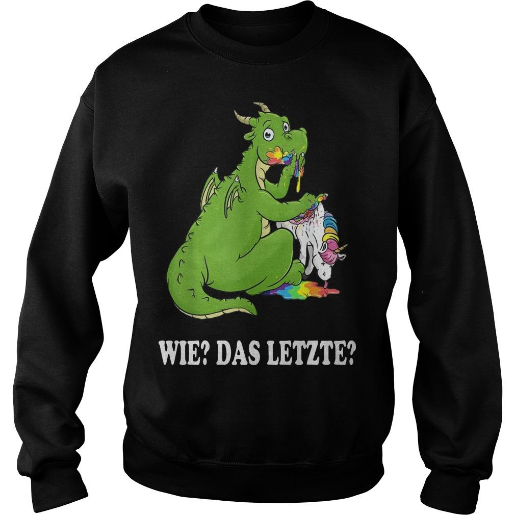 Dragon Unicorn Wie Das Letzte Sweater