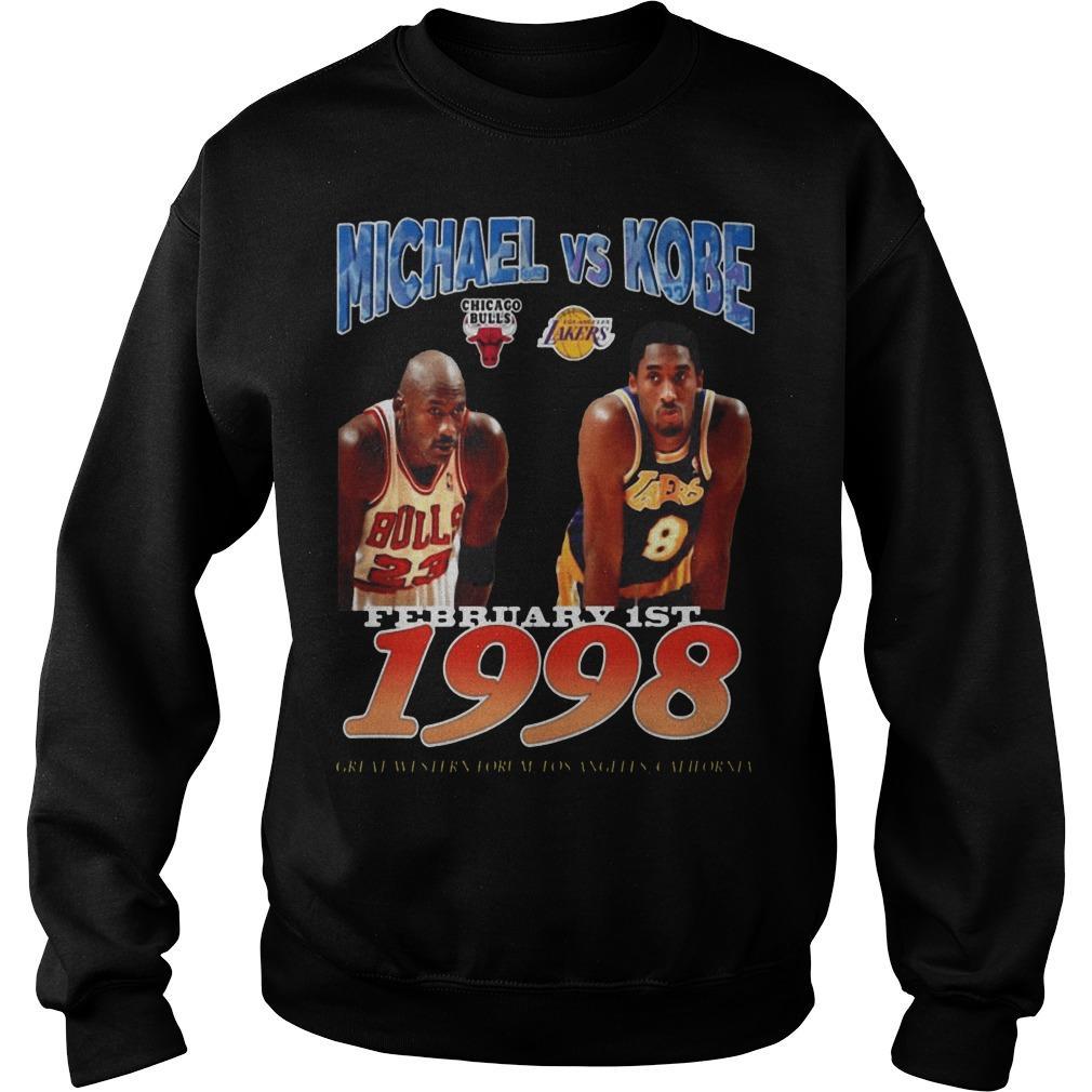 February 1st 1998 Michael Vs Kobe Sweater