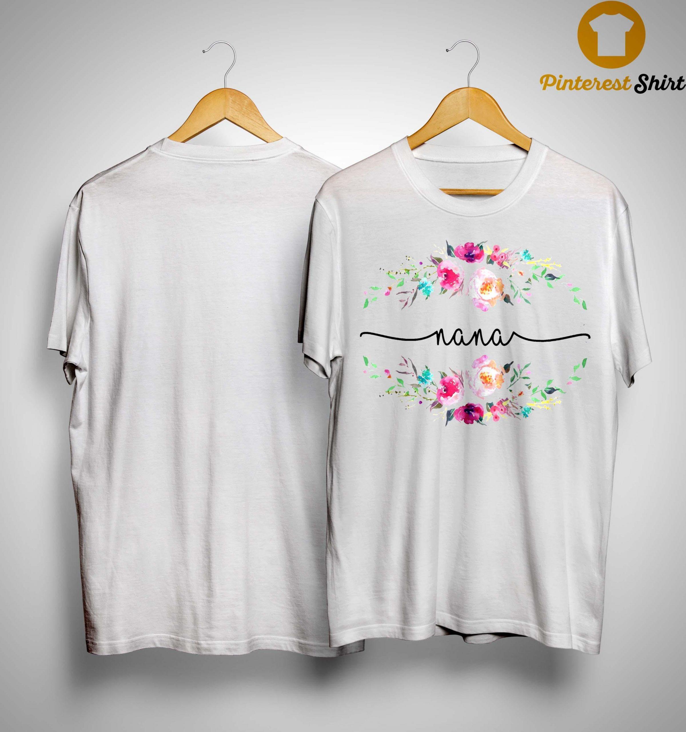 Flower Nana Shirt