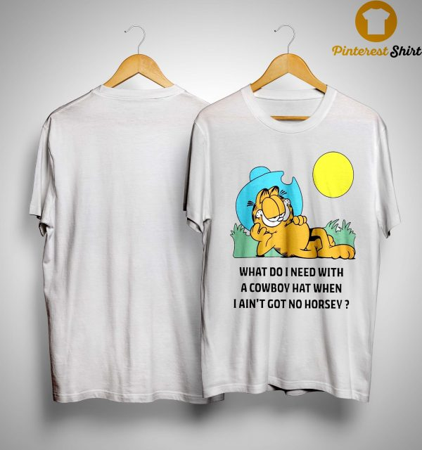 Garfield Cowboy Shirt