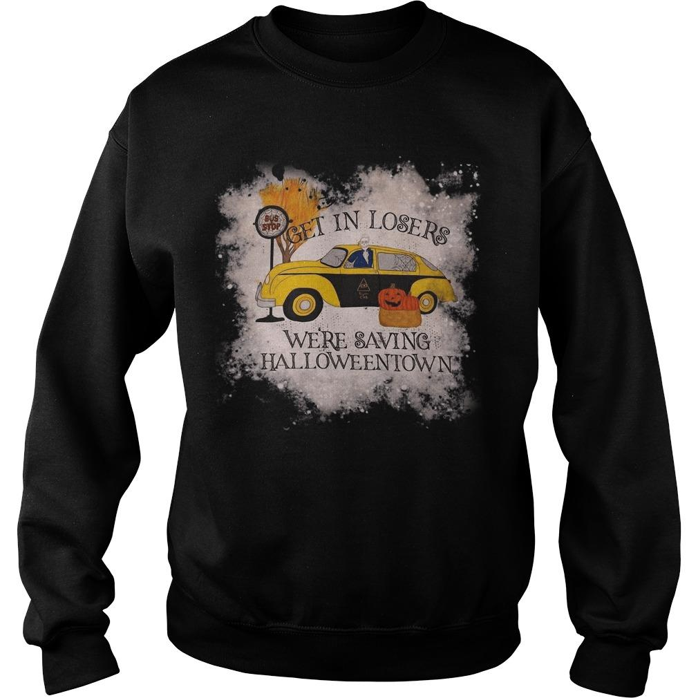 Get In Loser We're Saving Halloweentown Sweater