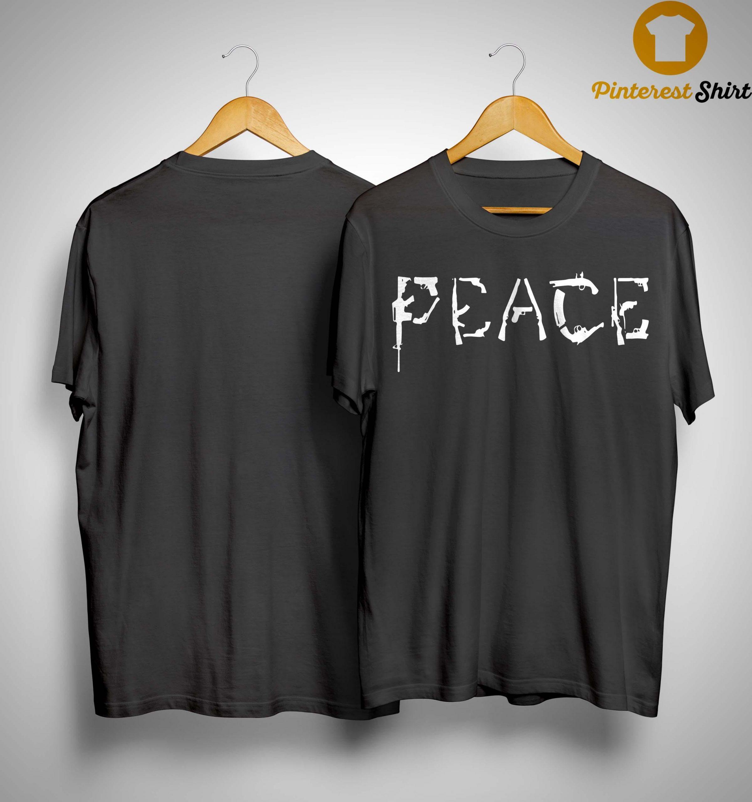 Gun Peace Shirt