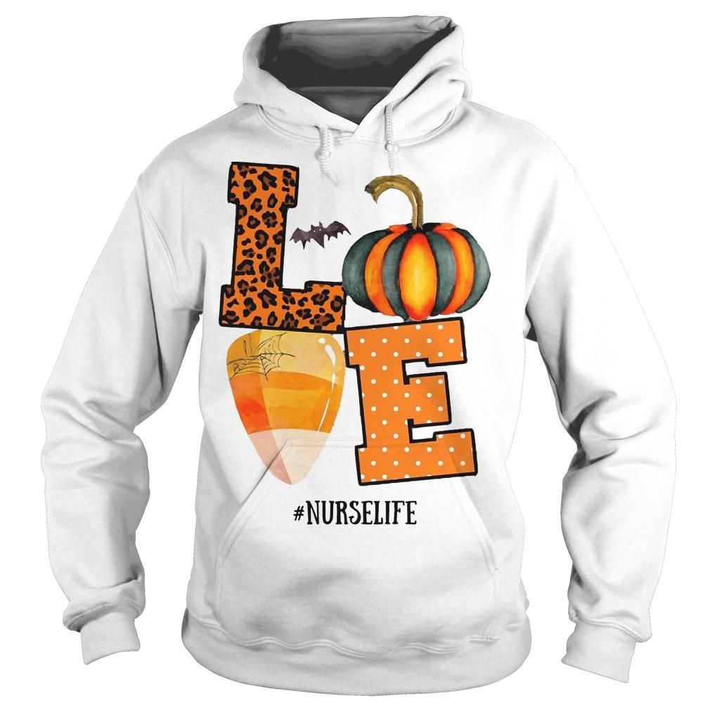 Halloween Pumpkin Love #nurselife Hoodie