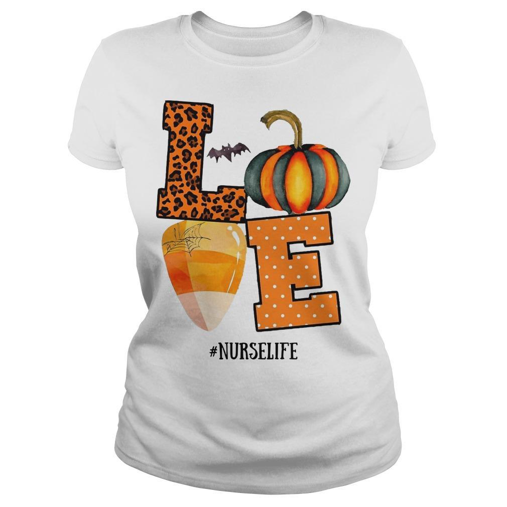 Halloween Pumpkin Love #nurselife Longsleeve