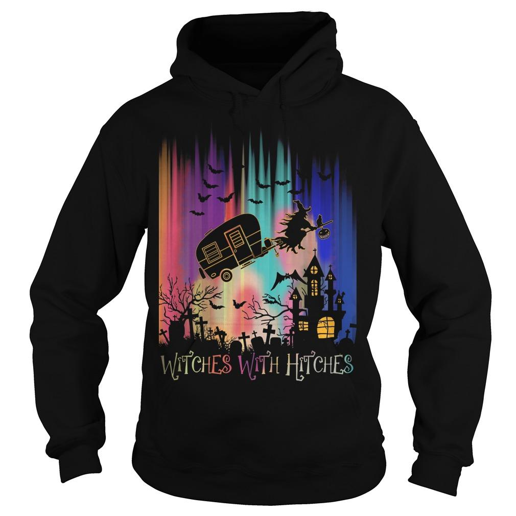 Halloween Witches With Hitches Hoodie