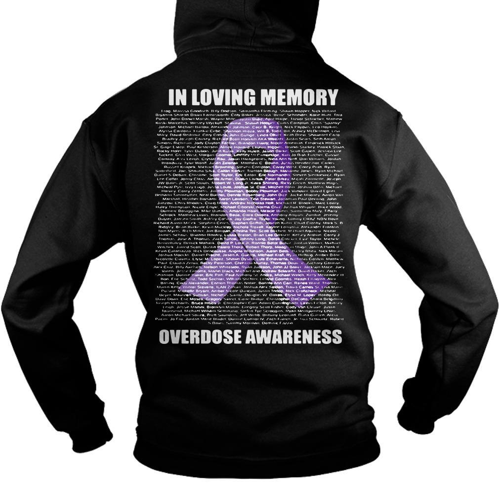 In Loving Memories Overdose Awareness Hoodie