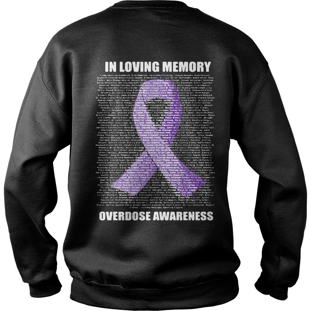 In Loving Memories Overdose Awareness Sweater