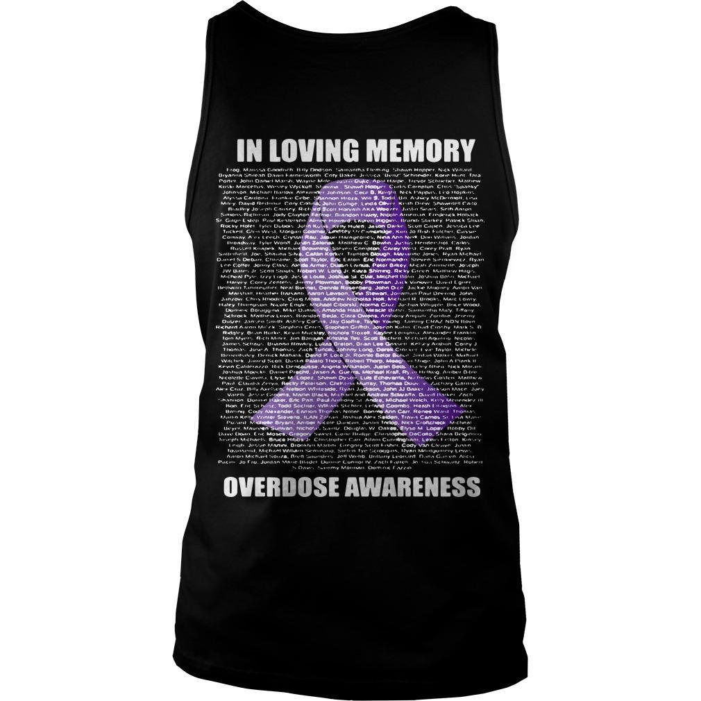In Loving Memories Overdose Awareness Tank Top