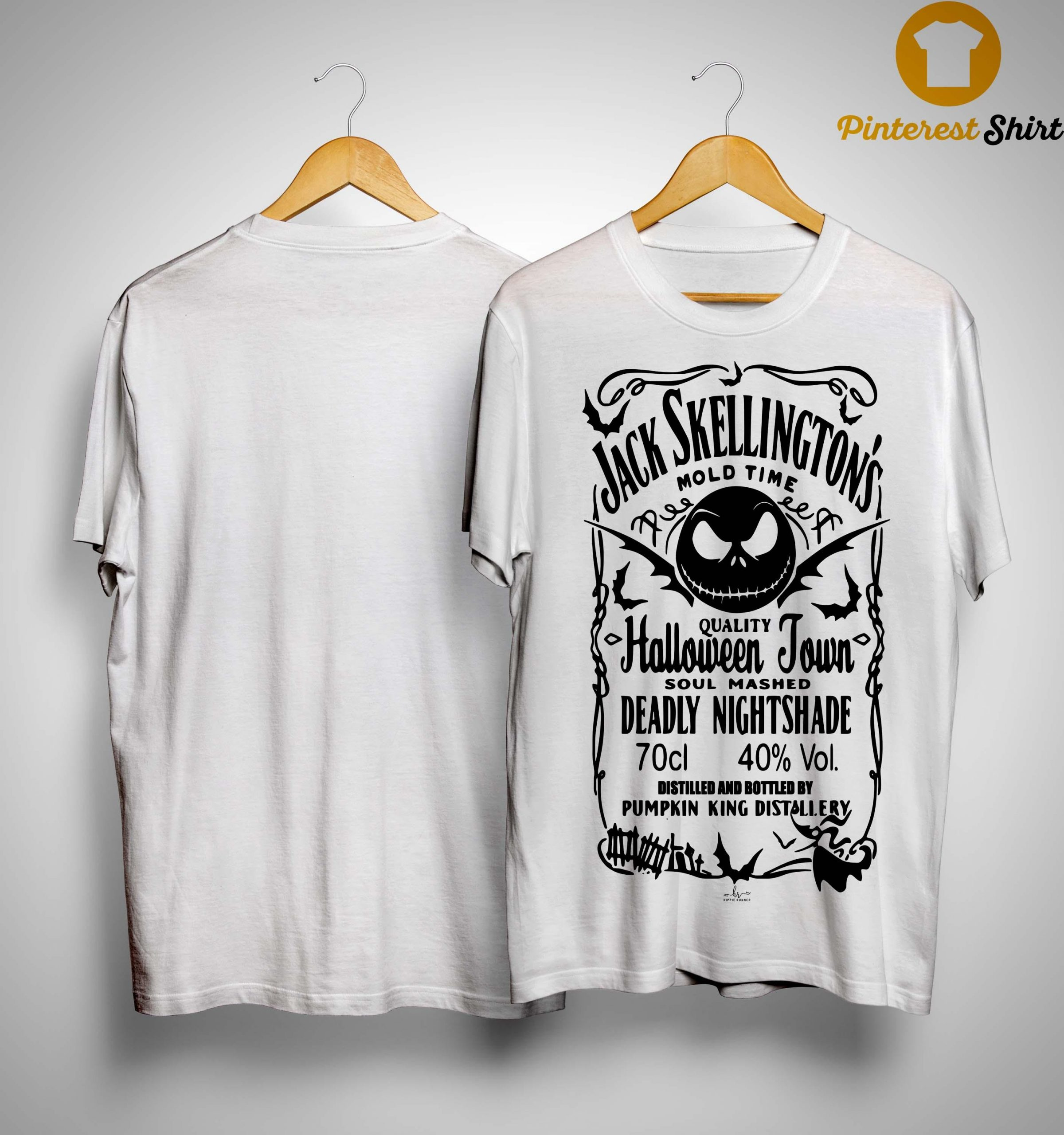 Jack Skellington Mold Time Quality Halloween Town Shirt