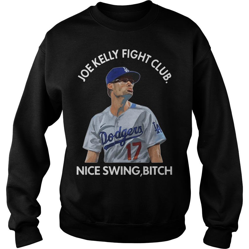 Joe Kelly Fight Club Nice Swing Bitch Sweater