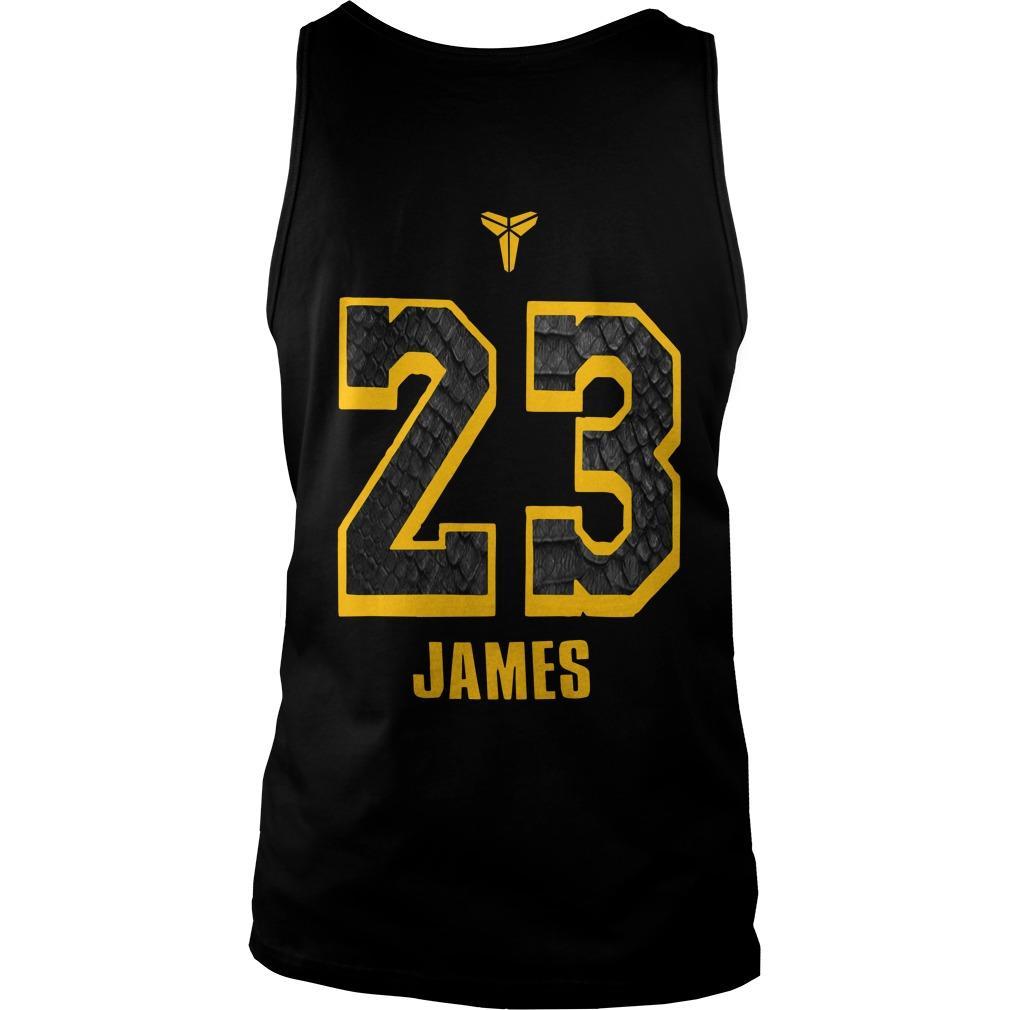 Lakers Blazers Lebron James Lakers Tank Top