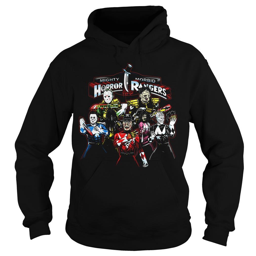 Mighty Morbid Horror Rangers Hoodie