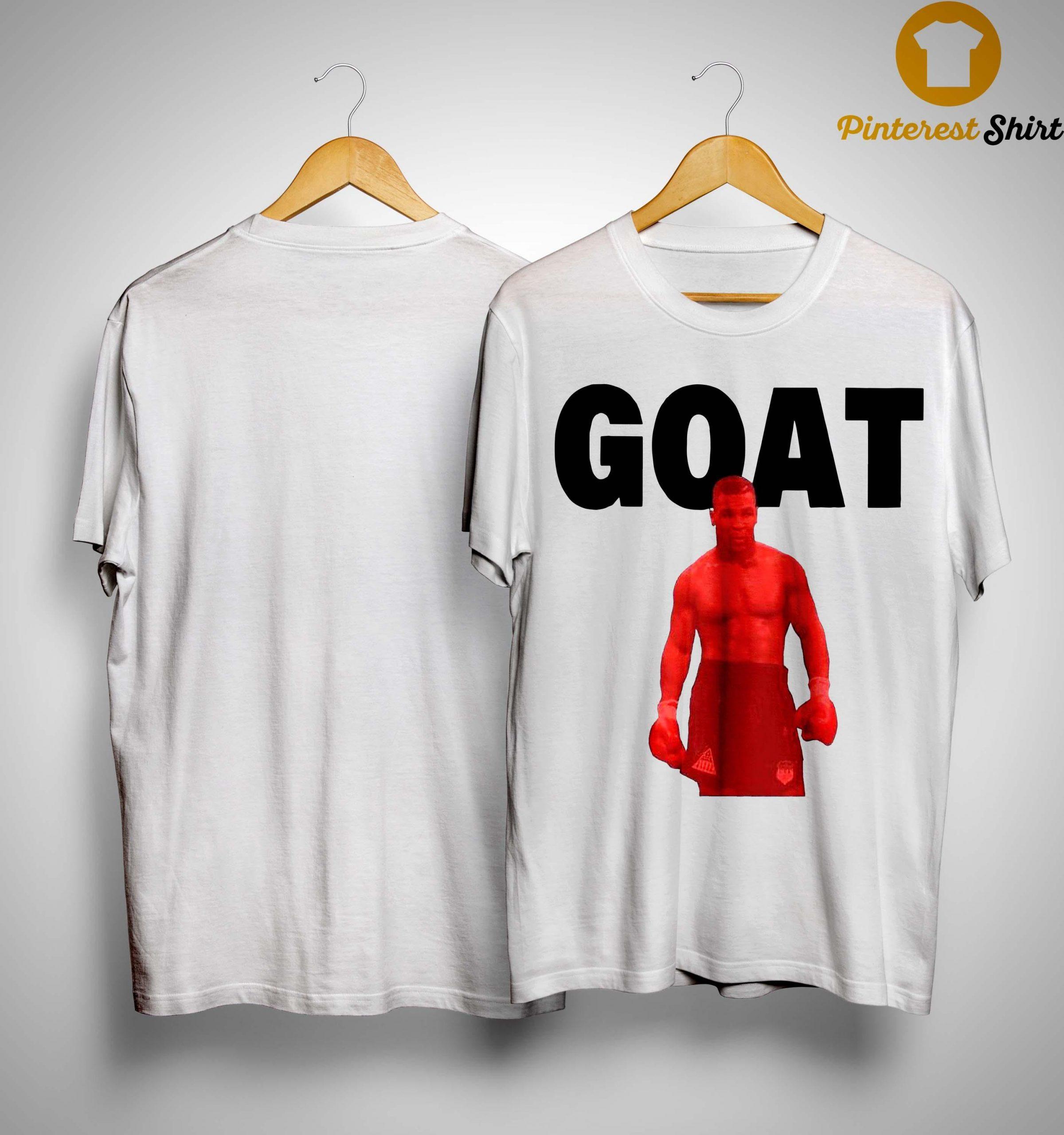 Mike Tyson Goat Shirt