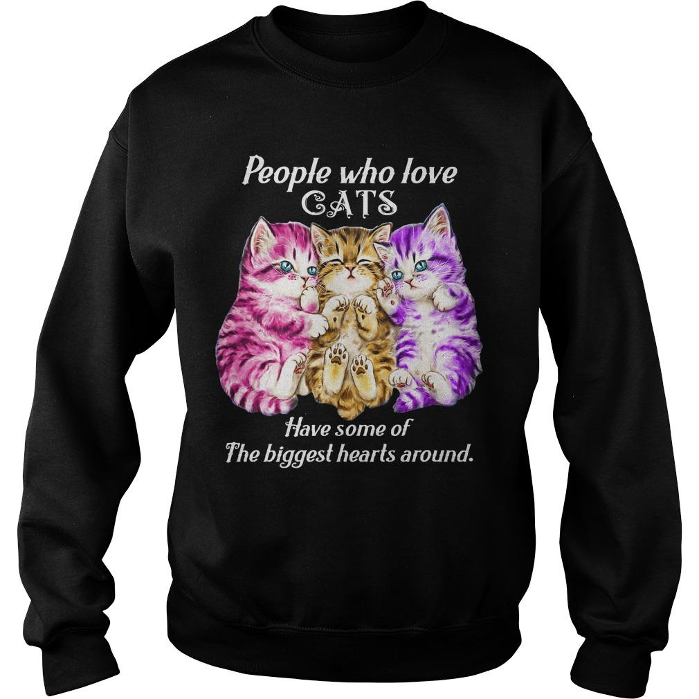 People Who Love Cats Have Some Of The Biggest Hearts Around Sweater