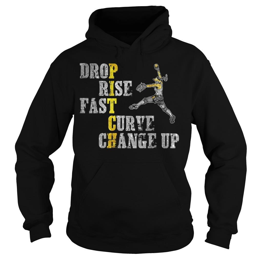 Pitch Drop Rise Fast Curve Change Up Hoodie