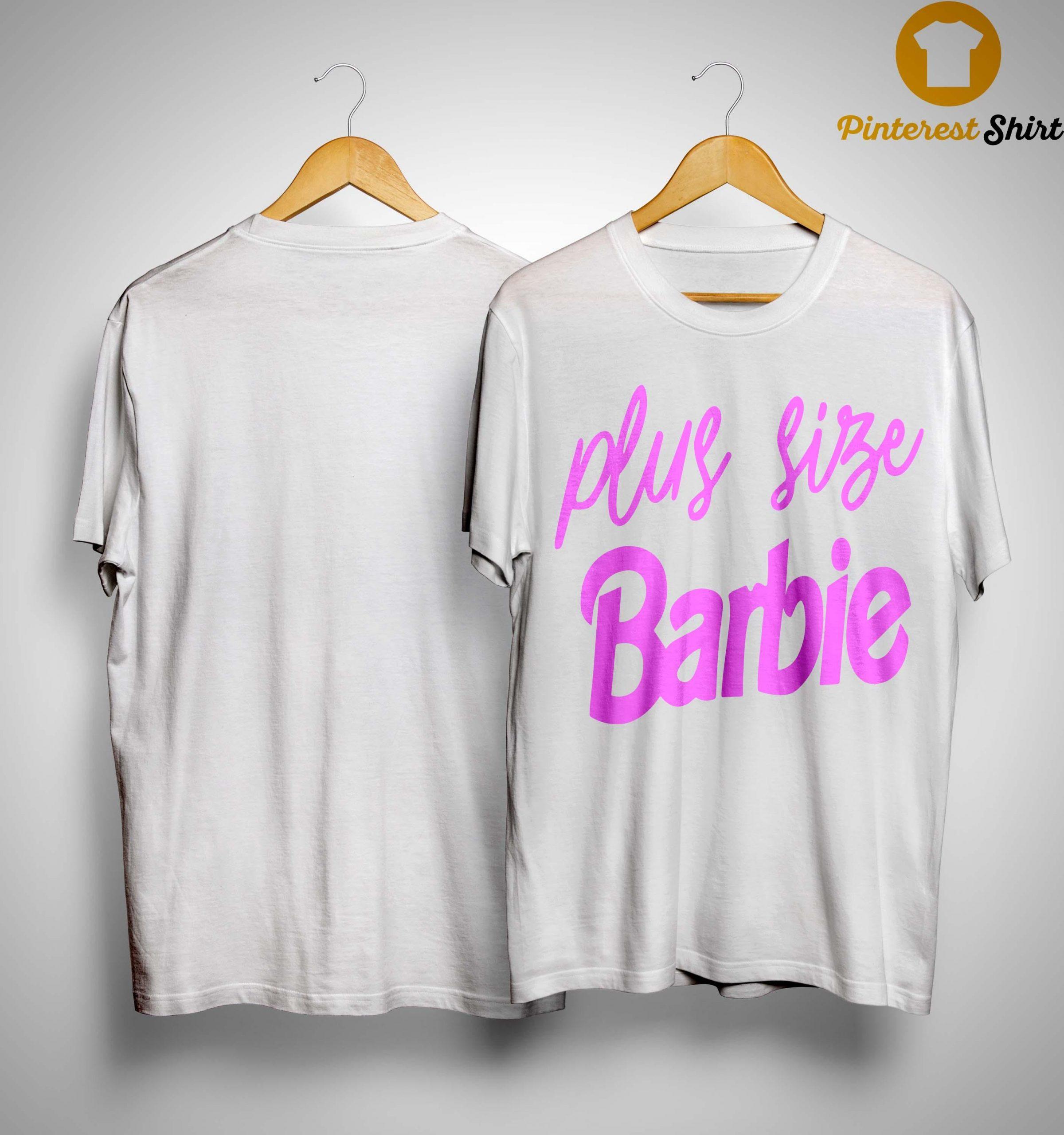 Plus Size Barbie Shirt