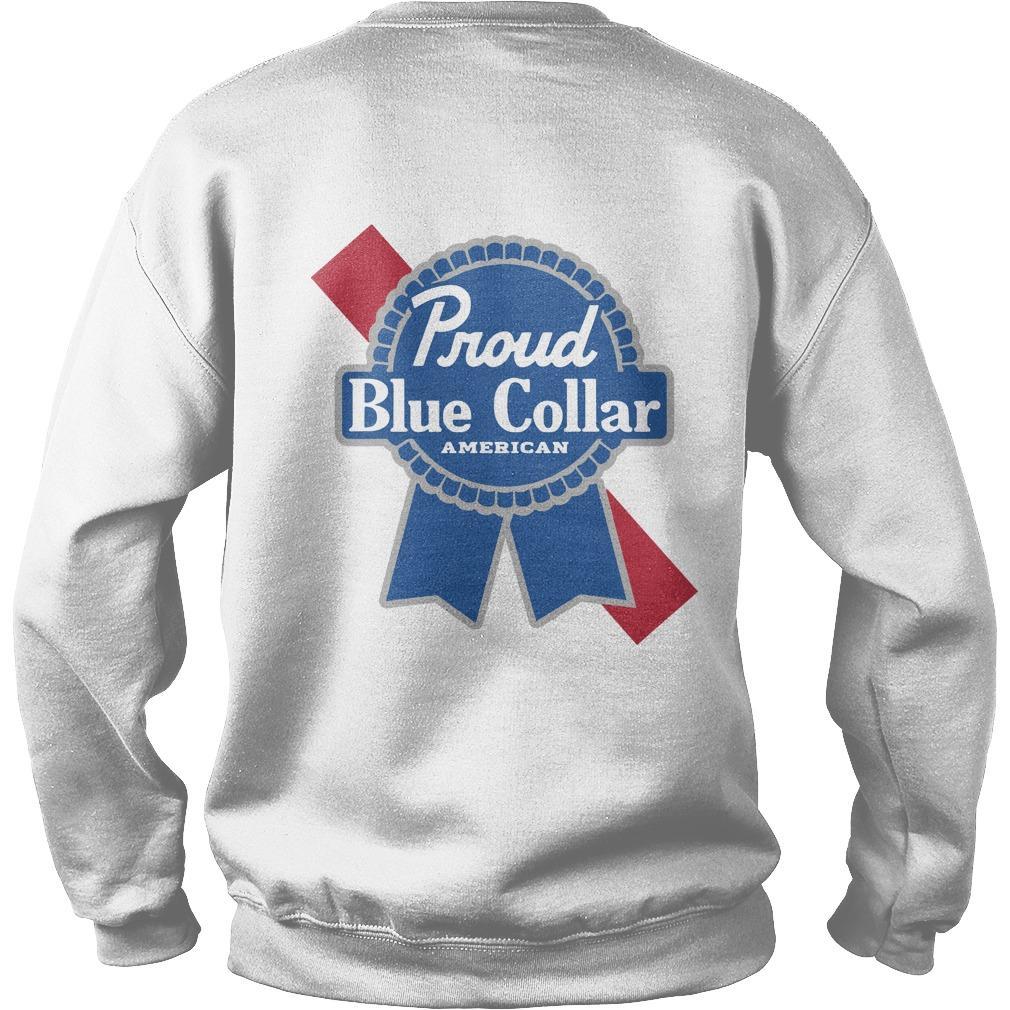 Proud Blue Collar American Sweater