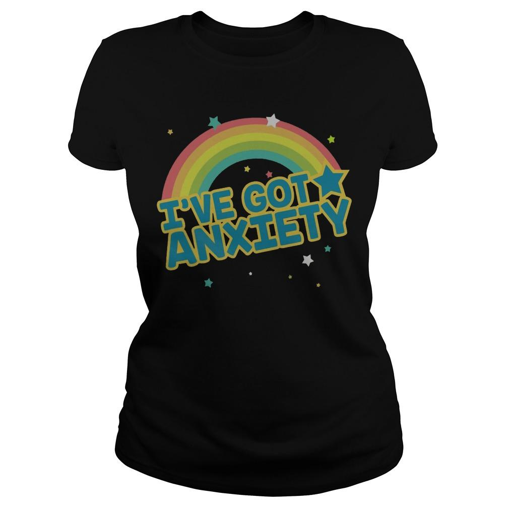 Rainbow I've Got Anxiety Longsleeve