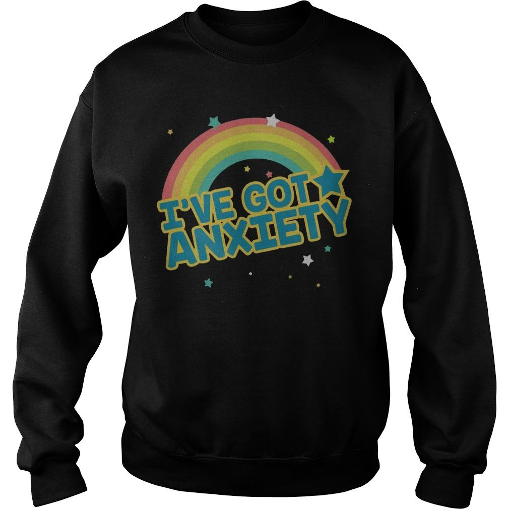 Rainbow I've Got Anxiety Sweater