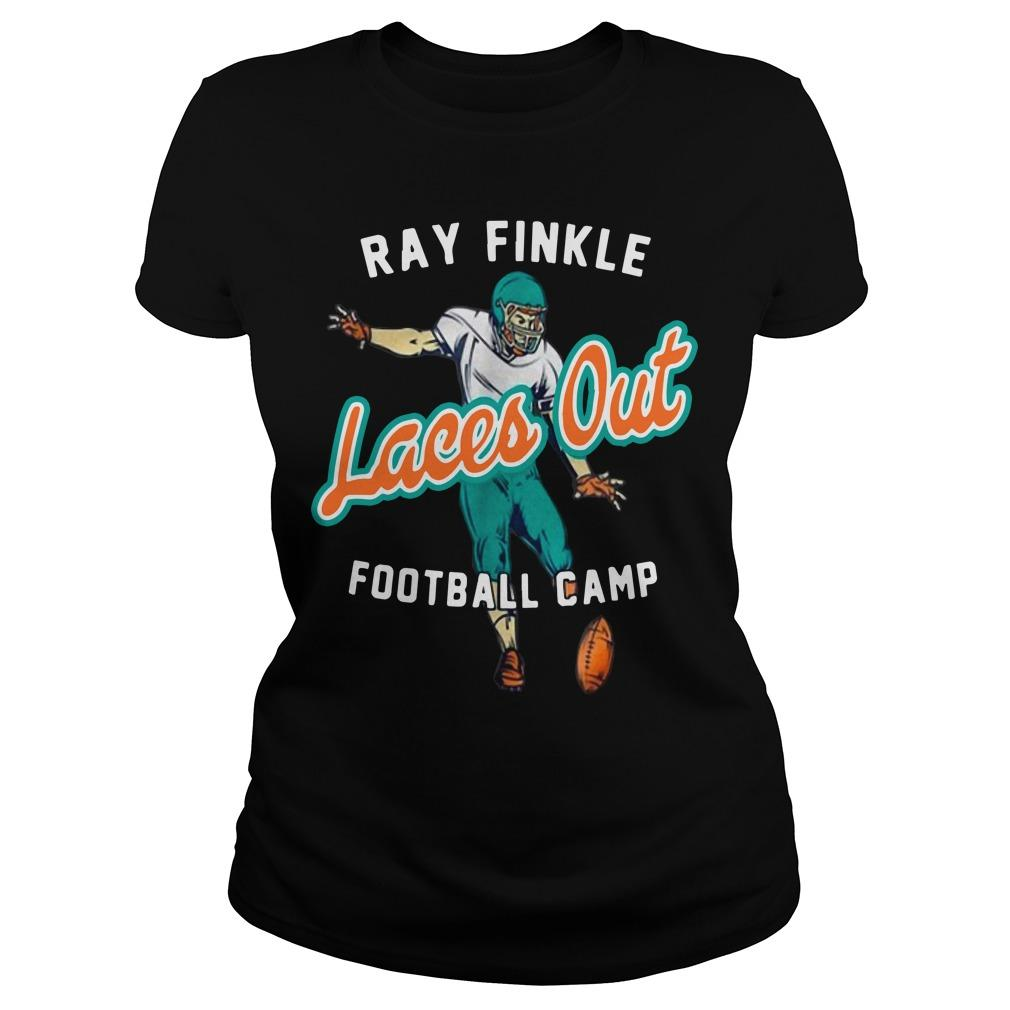 Ray Finkle Laces Out Football Camp Longsleeve