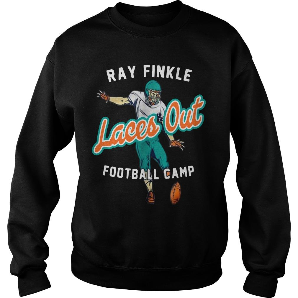 Ray Finkle Laces Out Football Camp Sweater
