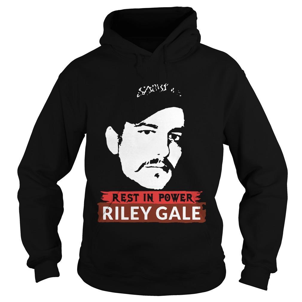 Rest In Power Riley Gale Power Trip Hoodie
