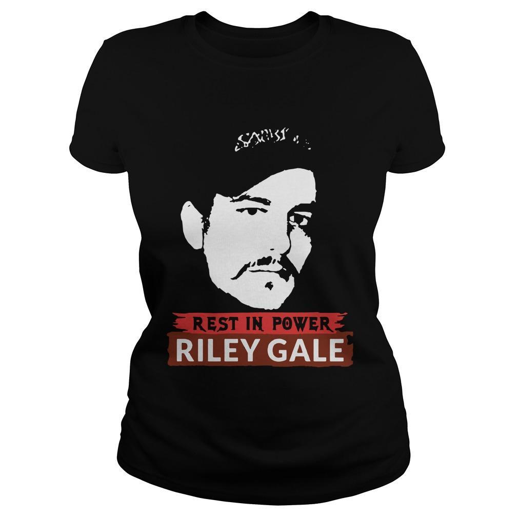 Rest In Power Riley Gale Power Trip Longsleeve