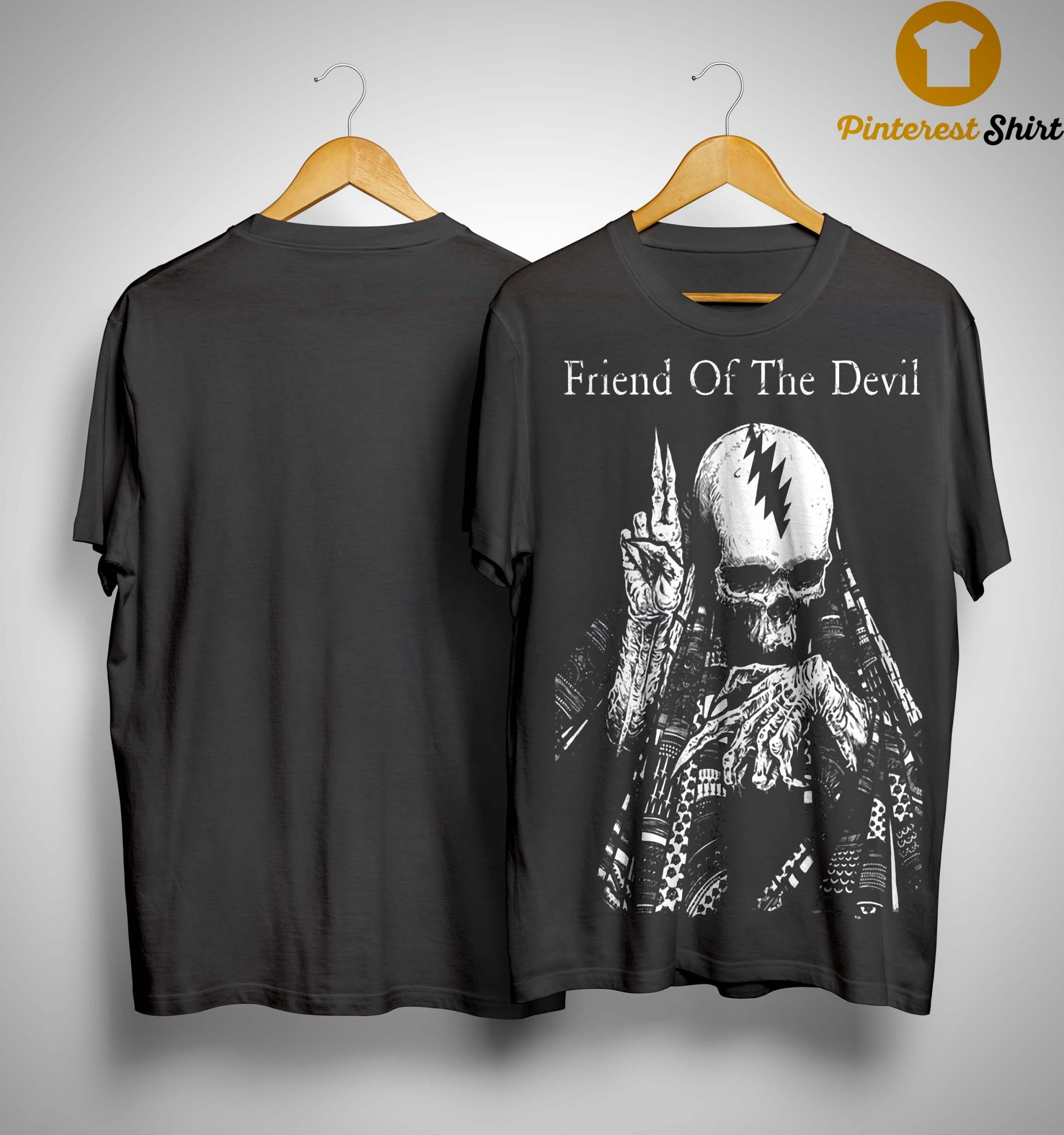 Skull Friend Of The Devil Shirt