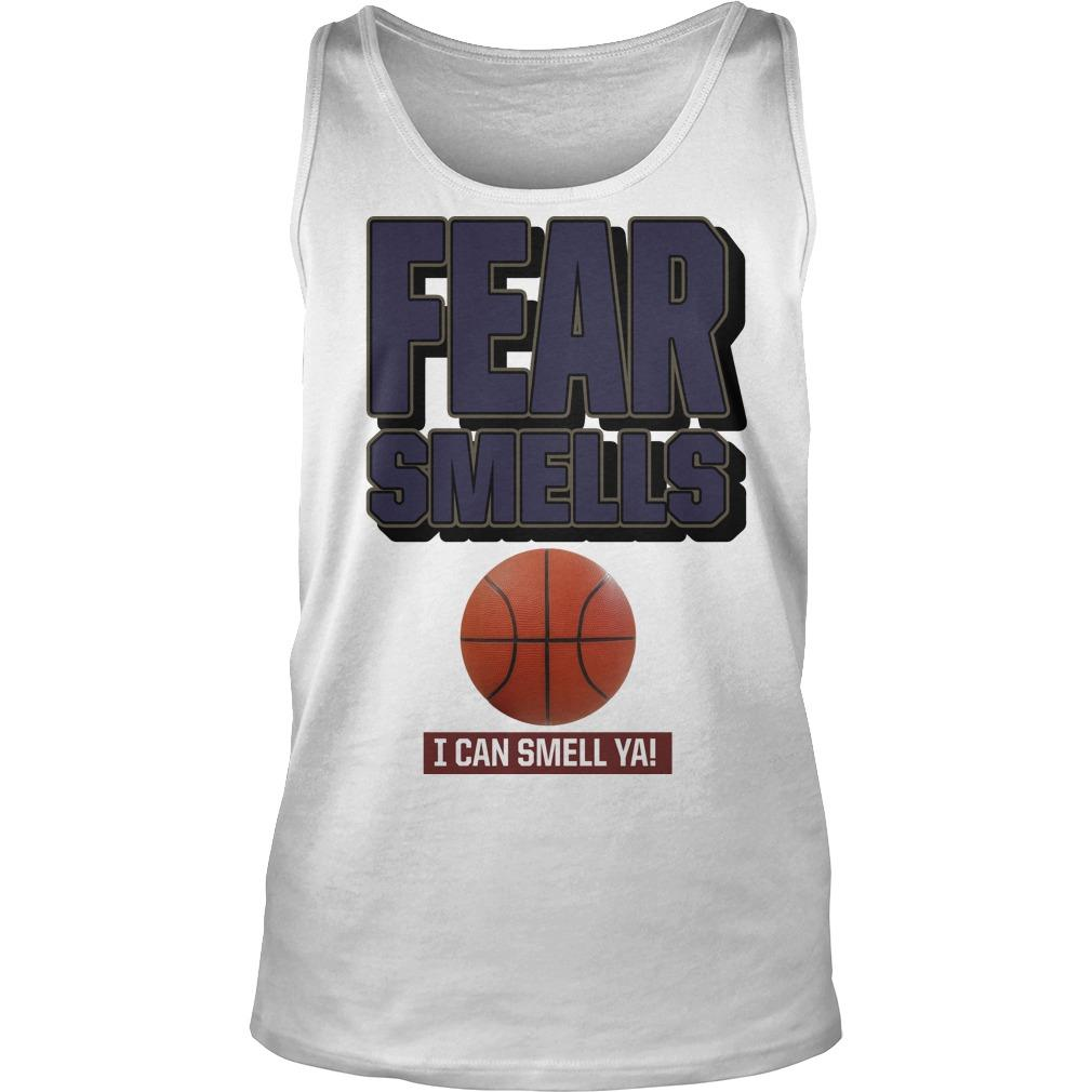Sophia Benoit Fear Smells And I Can Smell Ya Tank Top