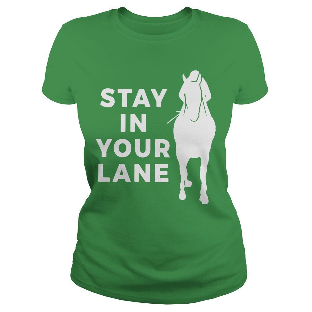 Stay In Your Lane Longsleeve