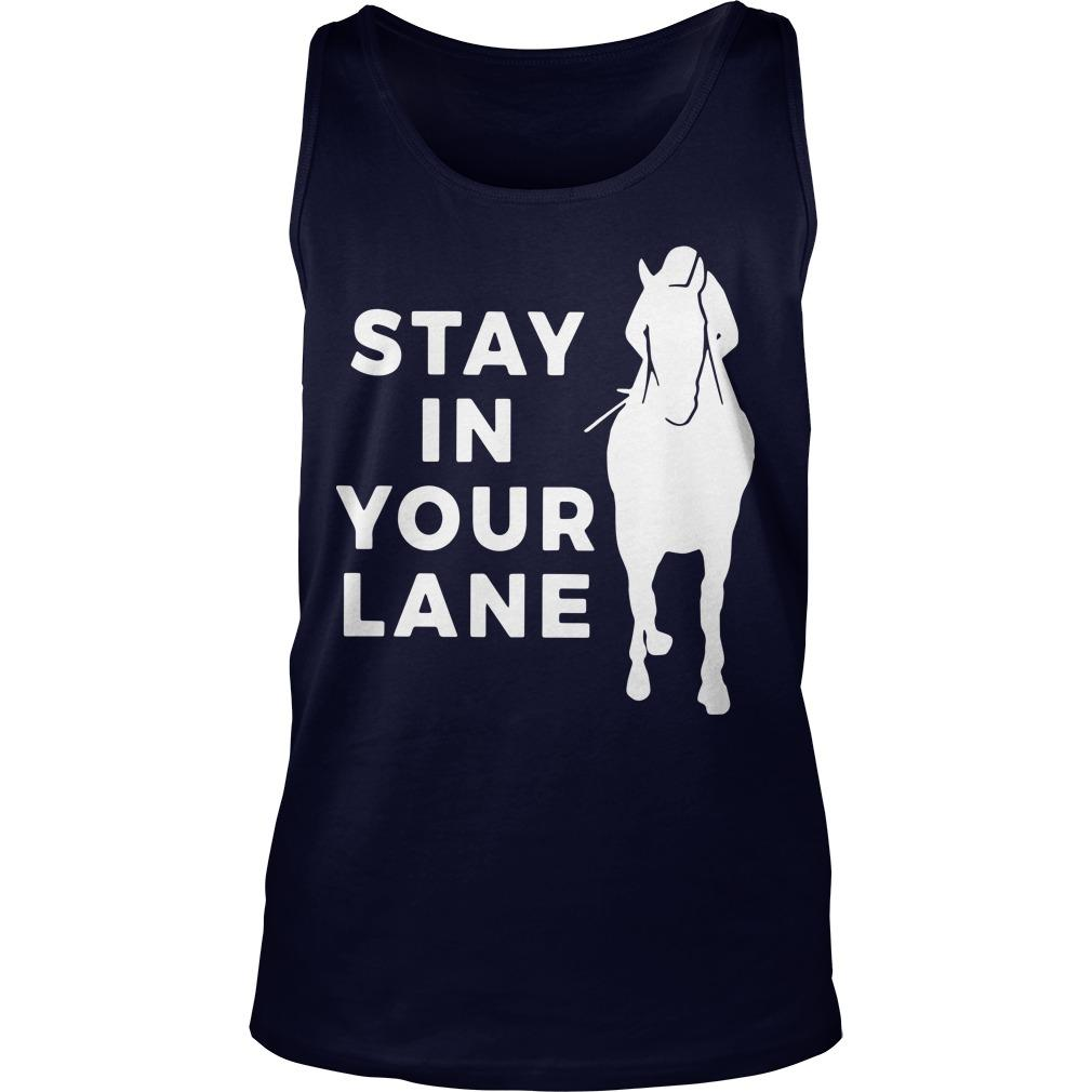 Stay In Your Lane Tank Top