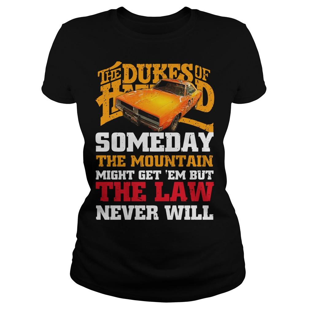 The Dukes Of Hazzard Someday The Mountain Might Get 'em Longsleeve