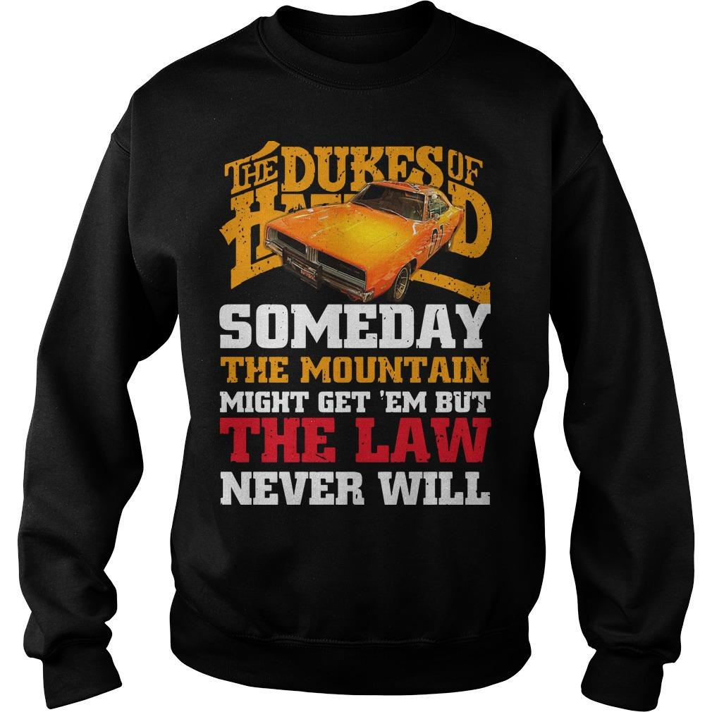 The Dukes Of Hazzard Someday The Mountain Might Get 'em Sweater