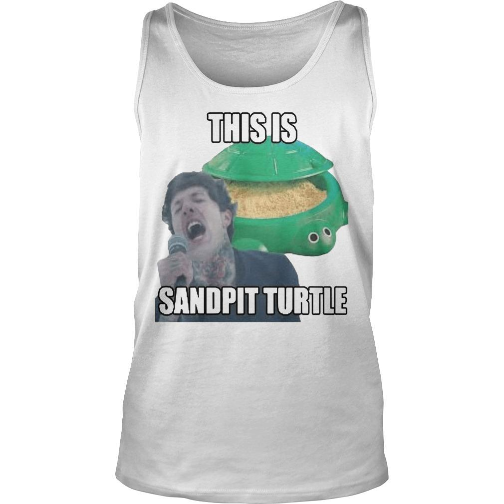 This Is Sandpit Turtle Tank Top
