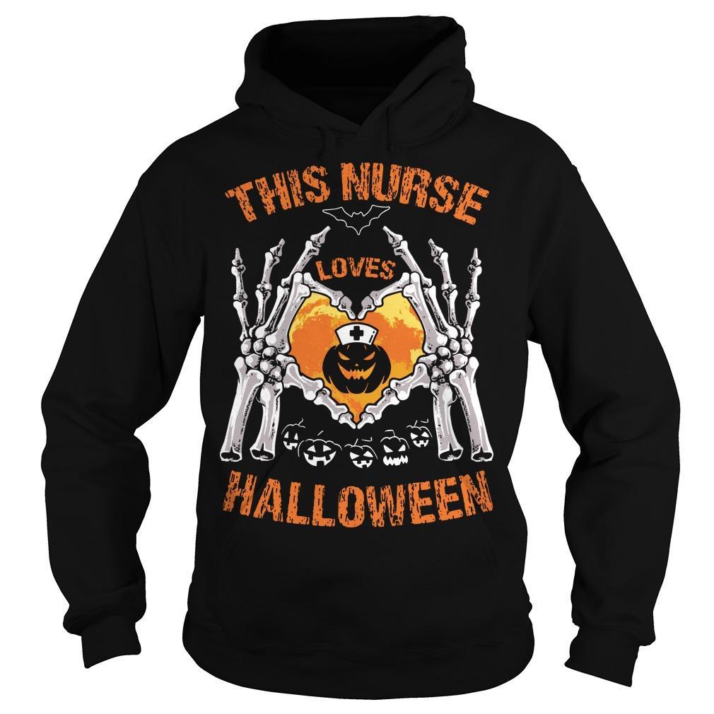 This Nurse Loves Halloween Hoodie
