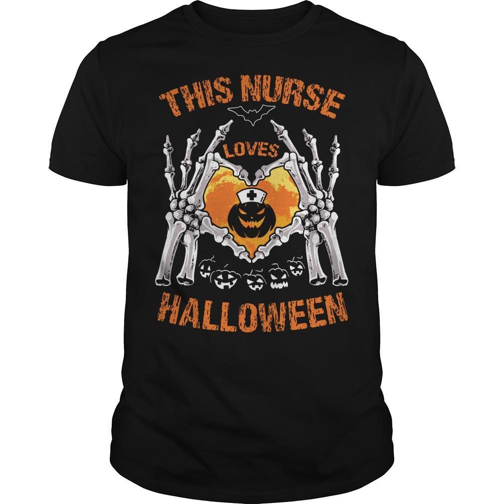 This Nurse Loves Halloween Shirt