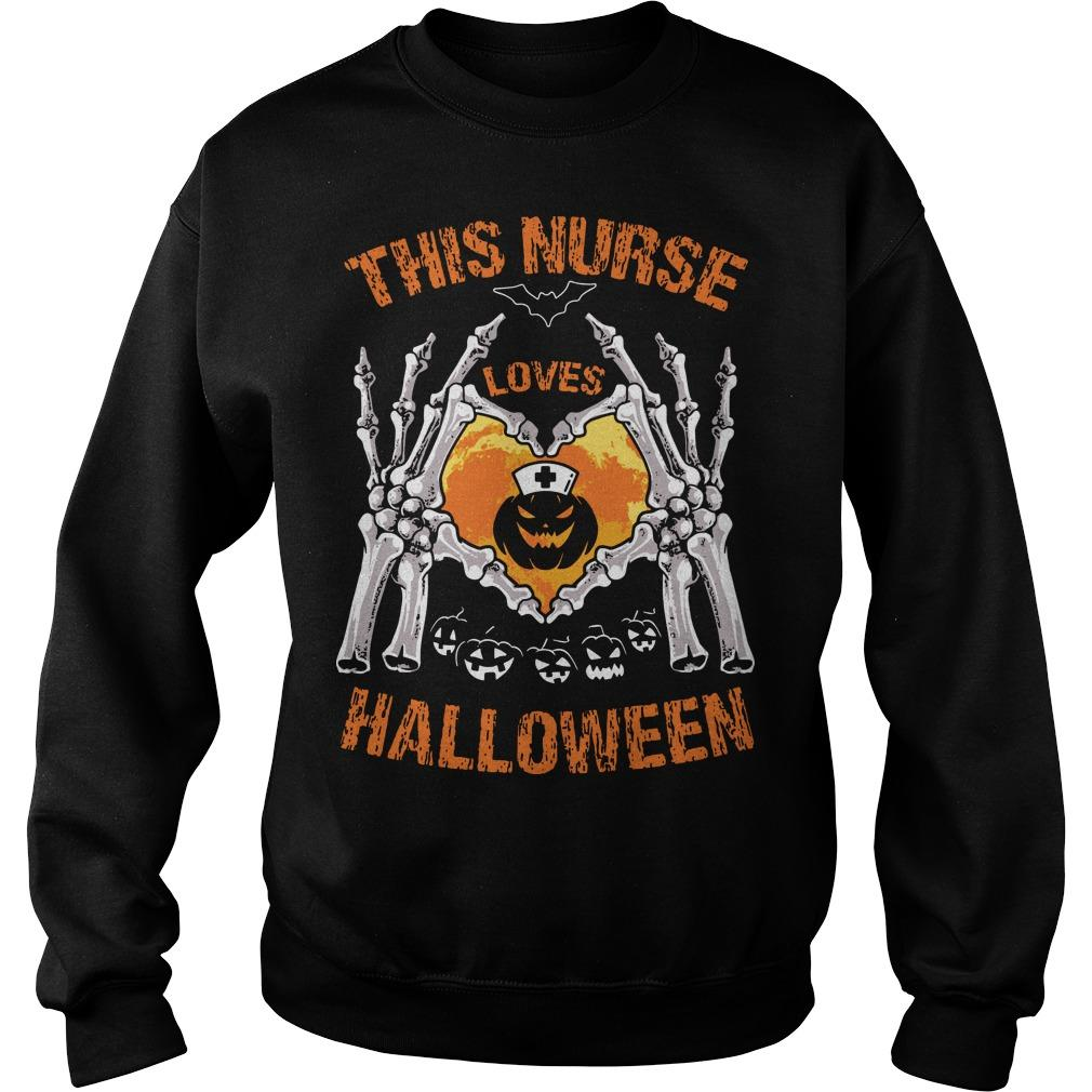 This Nurse Loves Halloween Sweater