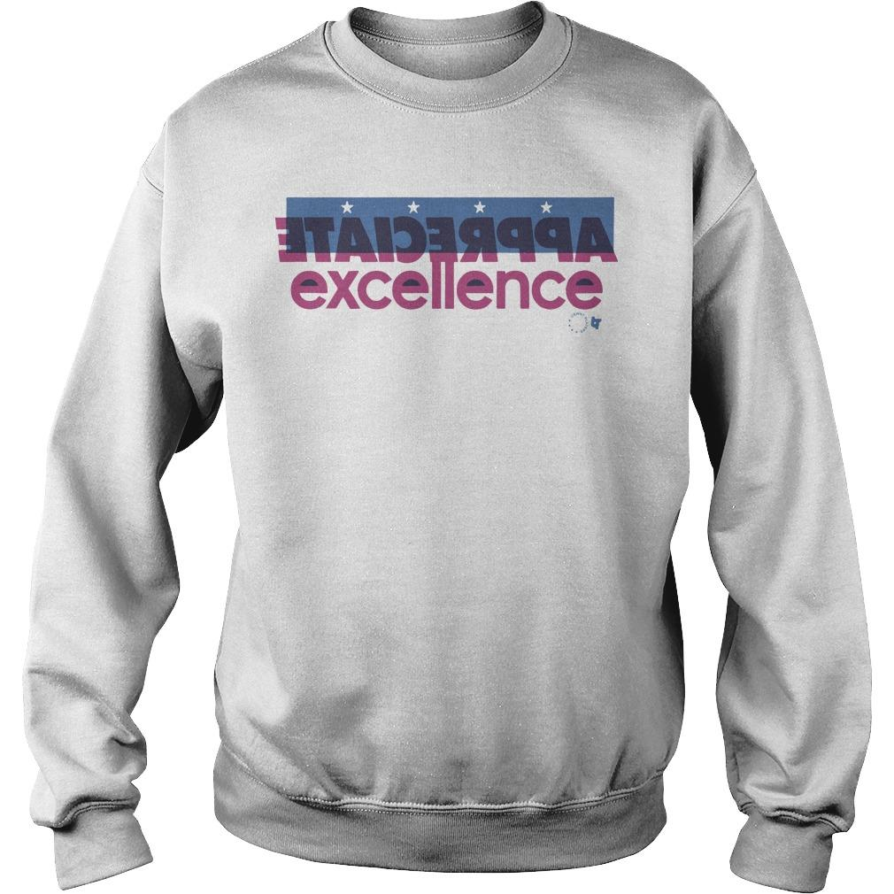 Appreciate Excellence Sweater