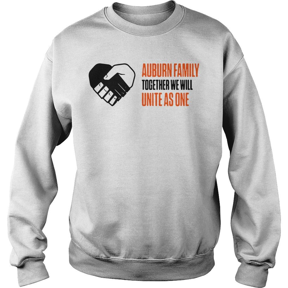 Auburn Family Together We Will Unite As One Sweater