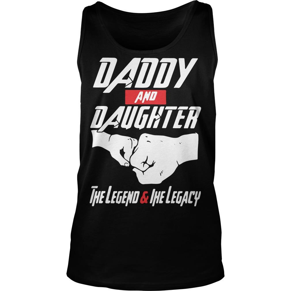 Avenger daddy And daughter the Legend And The Legacy shirt Tank Top